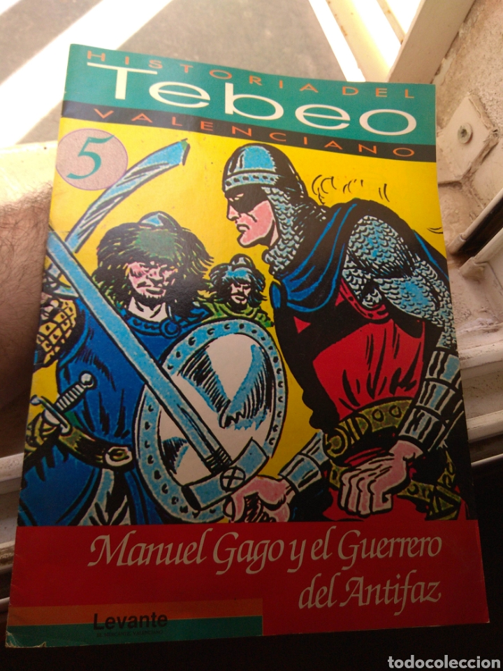 FASCÍCULO HISTORIA DEL TEBEO VALENCIANO - LEVANTE 1992 - N°5 - EL GUERRERO DEL ANTIFAZ - (Tebeos y Comics - Valenciana - Otros)