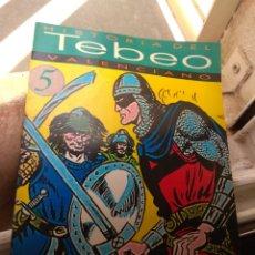 Tebeos: FASCÍCULO HISTORIA DEL TEBEO VALENCIANO - LEVANTE 1992 - N°5 - EL GUERRERO DEL ANTIFAZ -. Lote 176690849