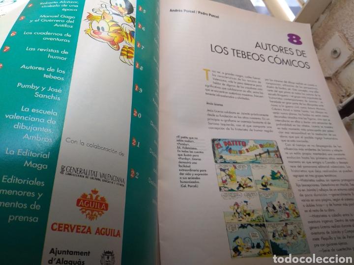 Tebeos: Fascículo Historia del Tebeo Valenciano - Levante 1992 - N°8 - Autores de los Tebeos Cómicos - - Foto 2 - 176691025