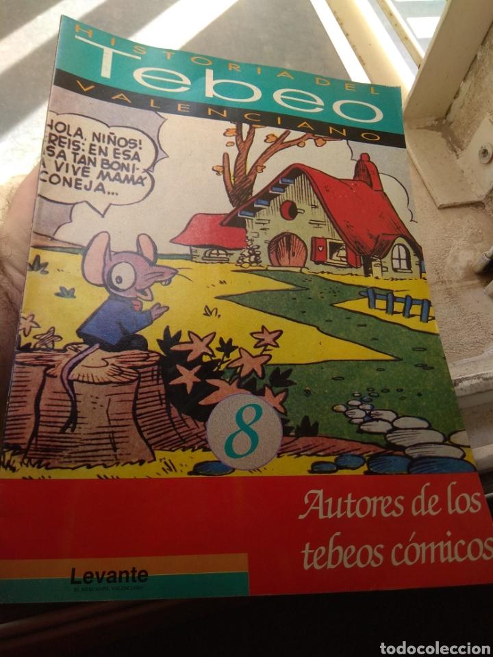 FASCÍCULO HISTORIA DEL TEBEO VALENCIANO - LEVANTE 1992 - N°8 - AUTORES DE LOS TEBEOS CÓMICOS - (Tebeos y Comics - Valenciana - Otros)