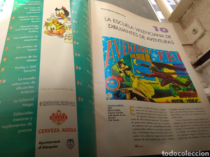 Tebeos: Historia del Tebeo Valenciano - Levante 1992 - N°10 - Escuela Valenciana Dibujantes Aventuras - - Foto 2 - 176691780