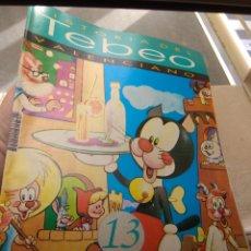 Tebeos: FASCÍCULO HISTORIA DEL TEBEO VALENCIANO - LEVANTE 1992 - N°13 - ÚLTIMA FASE INDUSTRIA EDITORIAL -. Lote 176694544