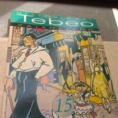 Tebeos: FASCÍCULO HISTORIA DEL TEBEO VALENCIANO - LEVANTE 1992 - N°15 - LA DÉCADA DE LOS 80 (II) -. Lote 176694945