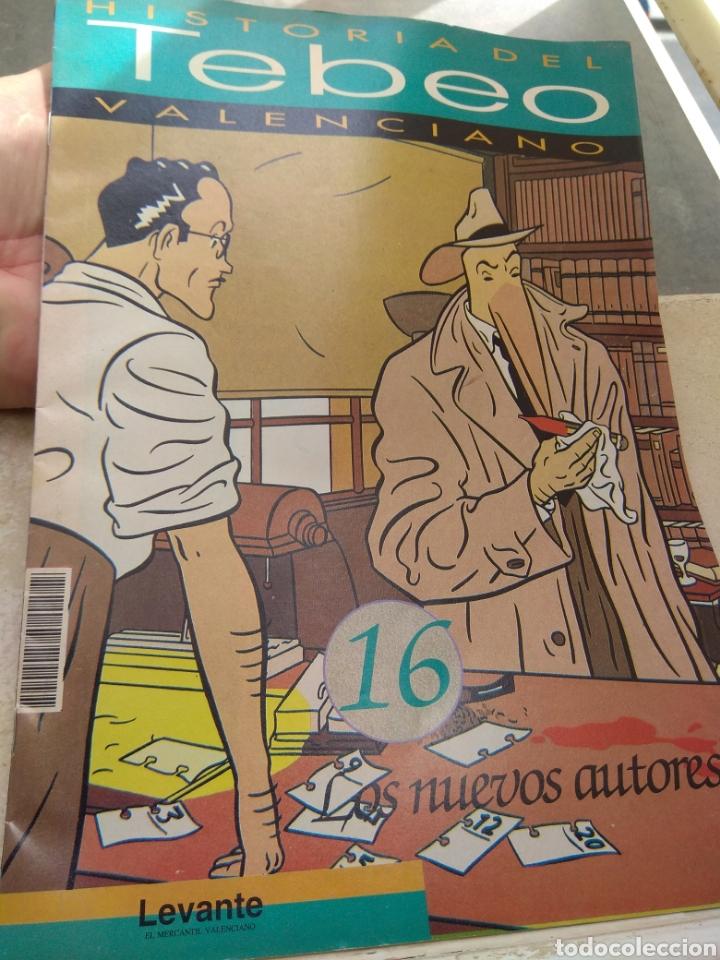 FASCÍCULO HISTORIA DEL TEBEO VALENCIANO - LEVANTE 1992 - N°16 - LOS NUEVOS AUTORES - (Tebeos y Comics - Valenciana - Otros)