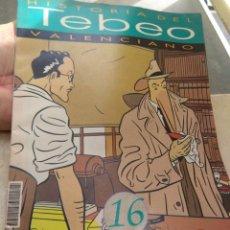 Tebeos: FASCÍCULO HISTORIA DEL TEBEO VALENCIANO - LEVANTE 1992 - N°16 - LOS NUEVOS AUTORES -. Lote 176695194
