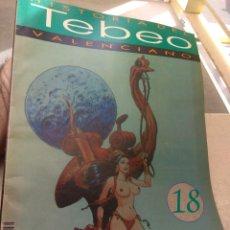 Tebeos: FASCÍCULO HISTORIA DEL TEBEO VALENCIANO - LEVANTE 1992 - N°18 - CLÁSICOS DE LOS 80 -. Lote 176695398