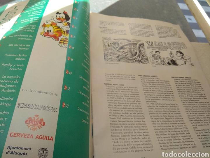 Tebeos: Fascículo Historia del Tebeo Valenciano - Levante 1992 - N°22 - Diccionario de Autores - Leer - - Foto 5 - 176695744