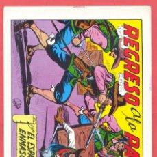 Tebeos: REGRESO A LA PATRIA-EDITORIAL VALENCIANA 1981 . SEGUNDA EDICION , Nº 18, VER FOTOS. Lote 176980048
