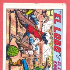 Tebeos: EL LOBO-EDITORIAL VALENCIANA 1981 . SEGUNDA EDICION , Nº 20, VER FOTOS. Lote 176980102