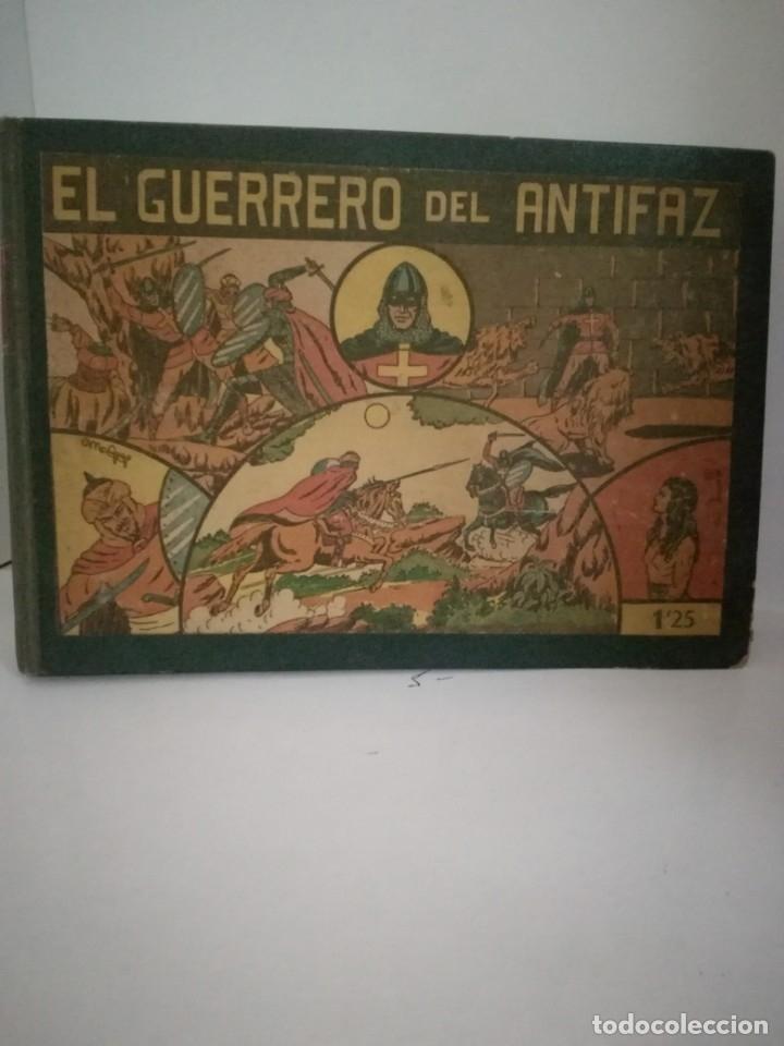 EL GUERRERO DEL ANTIFAZ ENCUADERNADO Nº 1 AL Nº 35, 1,25 PST ***EDITORIAL VALENCIANA*** MUY DIFÍCIL (Tebeos y Comics - Valenciana - Guerrero del Antifaz)