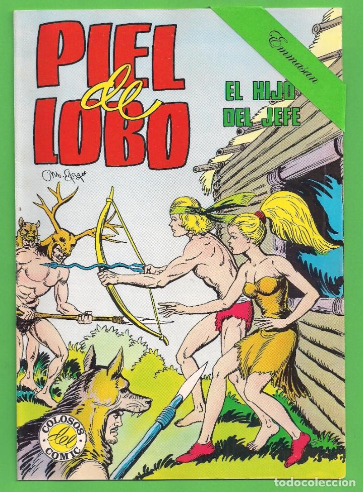 Tebeos: PIEL DE LOBO - COMPLETA DEL 1 AL 20 - VALENCIANA - (1980) - VER IMÁGENES. - Foto 2 - 177134038