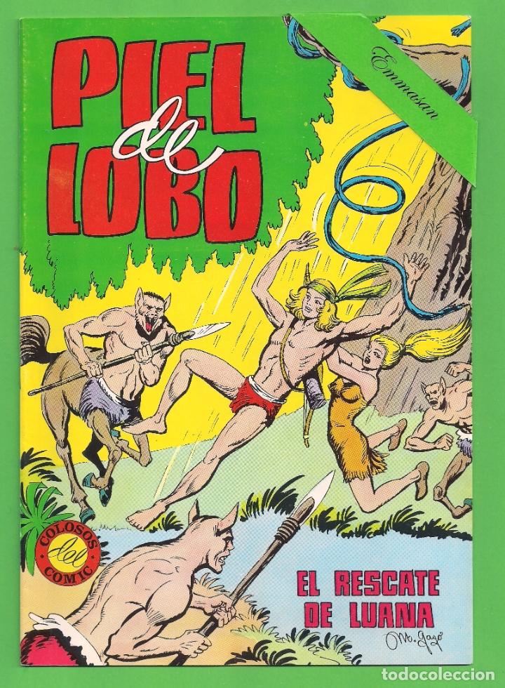 Tebeos: PIEL DE LOBO - COMPLETA DEL 1 AL 20 - VALENCIANA - (1980) - VER IMÁGENES. - Foto 4 - 177134038