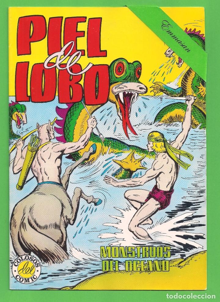 Tebeos: PIEL DE LOBO - COMPLETA DEL 1 AL 20 - VALENCIANA - (1980) - VER IMÁGENES. - Foto 5 - 177134038