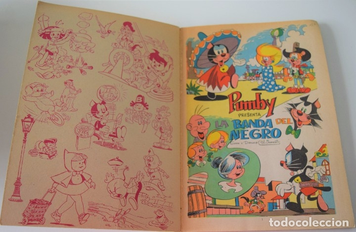 Tebeos: LIBROS ILUSTRADOS PUMBY Nº 40 - LA BANDA DEL NEGRO - ED. VALENCIANA 1971 - MUY BUEN ESTADO - Foto 3 - 177333957
