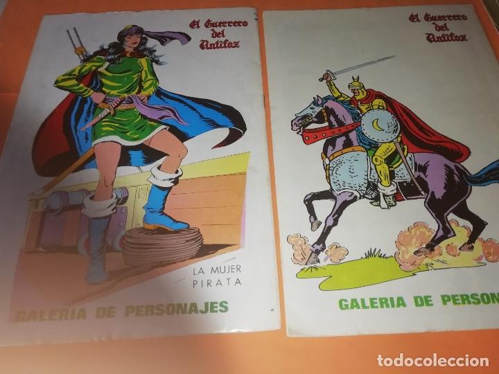 Tebeos: EL GUERRERO DEL ANTIFAZ . CAPITAN TRUENO. EL AGUILUCHO. JEQUE BLANCO. LOTE. - Foto 4 - 177585708