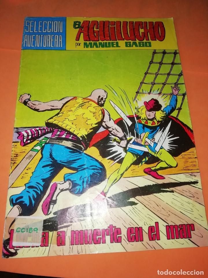 Tebeos: EL GUERRERO DEL ANTIFAZ . CAPITAN TRUENO. EL AGUILUCHO. JEQUE BLANCO. LOTE. - Foto 7 - 177585708
