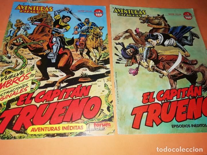 Tebeos: EL GUERRERO DEL ANTIFAZ . CAPITAN TRUENO. EL AGUILUCHO. JEQUE BLANCO. LOTE. - Foto 9 - 177585708