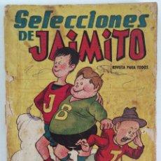 Tebeos: SELECCIONES DE JAIMITO Nº 1 (EDI. VALENCIANA, 1958) , 68 PGS. MUY DIFICIL. Lote 177712128