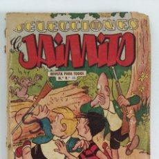 Tebeos: SELECCIONES DE JAIMITO Nº 2 (EDI. VALENCIANA, 1958) , 68 PGS. MUY DIFICIL. Lote 177712272