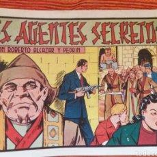 Tebeos: LOS AGENTES SECRETOS CON ROBERTO ALCÁZAR Y PEDRIN. Lote 177780829