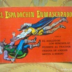 Tebeos: EL ESPADACHÍN ENMASCARADO. TOMO 9. CONTIENE LOS NÚMEROS: 33-34-35 Y 36. EDT. VALENCIANA 1.982.. Lote 177784529