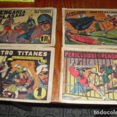 Tebeos: EL GUERRERO DEL ANTIFAZ - 4 EJEMPLARES DE 1 PTA.. Lote 177827932