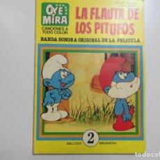 Tebeos: OYE MIRA LA FLAUTA DE LOS PITUFOS Nº 2 . Lote 177841240