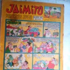 Tebeos: JAIMITO- Nº 1087- 1970- SERAFIN-KARPA-SANCHIS-PALOP-NIN-ROJAS-AMBRÓS-MUY RARO-REGULAR-LEAN-2055. Lote 177951453