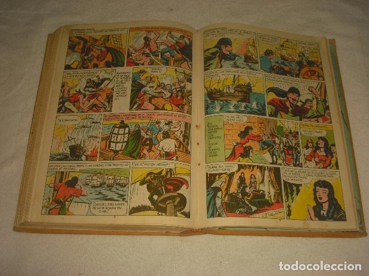 Tebeos: EL GUERRERO DEL ANTIFAZ , TOMO 6. ED. VALENCIANA 1974. CONTINE LOS NUMEROS DEL 101 AL 120. - Foto 5 - 178201181