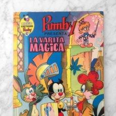 Tebeos: LIBROS ILUSTRADOS PUMBY - Nº 42 - LA VARITA MAGICA - ED. VALENCIANA - 1972. Lote 178209152