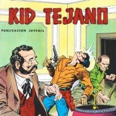 Tebeos: KID TEJANO - Nº 17 - UN WESTERN JUVENIL DE GRAN CALIDAD- 1980- MUY BUEN ESTADO-DIFÍCIL-LEAN-2083. Lote 178299478
