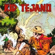 Tebeos: KID TEJANO - Nº 20 - UN WESTERN JUVENIL DE GRAN CALIDAD- 1980- REGULAR ESTADO-DIFÍCIL-LEAN-2084. Lote 178300751