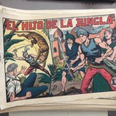 Livros de Banda Desenhada: EL HIJO DE LA JUNGLA COLECCIÓN INCOMPLETA DE 67 CÓMICS. Lote 178447818
