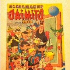 Tebeos: JAIMITO - ALMANAQUE 1972 - (PEQUEÑISIMO MORDISCO ABAJO). Lote 178573475