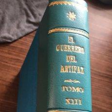 Tebeos: EL GUERRERO DEL ANTIFAZ. LOTE DE 55 NUMEROS ULTIMOS ORIGINALES ENCUADERNADOS. VALENCIANA. IMPECABLE. Lote 178575020