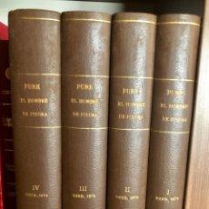 Tebeos: PURK EL HOMBRE DE PIEDRA COMPLETA 114 NUMEROS EN 4 TOMOS (EDIVAL 1974). Lote 178608542