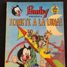 Tebeos: LIBROS ILUSTRADOS PUMBY Nº 8 COHETE A LA LUNA. Lote 178670126