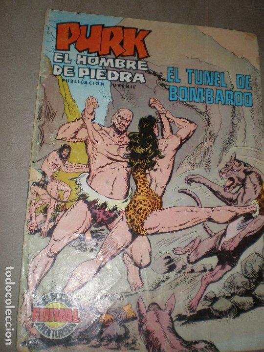 PURK,EL HOMBRE DE PIEDRA,EL TÚNEL DE BOMBARDO (Tebeos y Comics - Valenciana - Purk, el Hombre de Piedra)