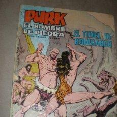 Tebeos: PURK,EL HOMBRE DE PIEDRA,EL TÚNEL DE BOMBARDO. Lote 178685925