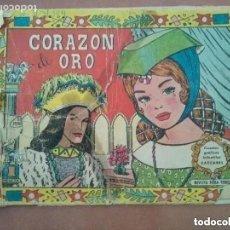 Tebeos: CORAZON DE ORO. VALENCIANA. CUENTOS GRAFICOS INFANTILES CASCABEL. 1958. Lote 178751415