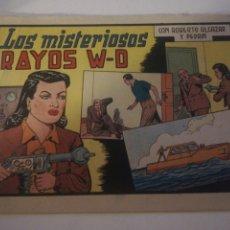 Tebeos: LOS MISTERIOSOS RAYOS W-D CON ROBERTO ALCAZAR Y PEDRIN N 327. Lote 178793085