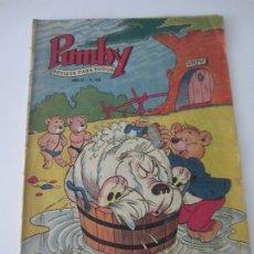 Tebeos: PUMBY Nº 63 - ORIGINAL - OCTUBRE 1957 -. Lote 178806533