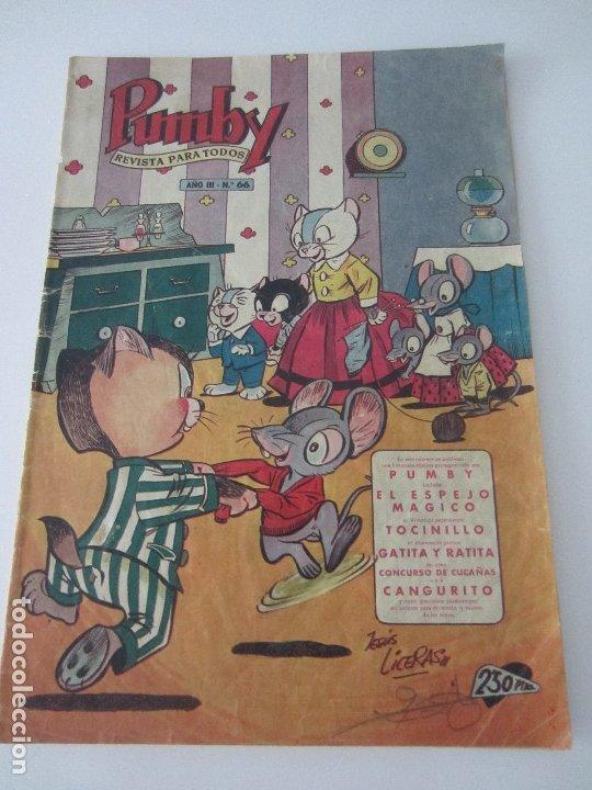 PUMBY Nº 66 - ORIGINAL - NOVIEMBRE 1957 - (Tebeos y Comics - Valenciana - Pumby)