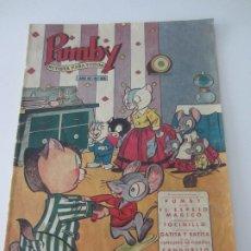 Tebeos: PUMBY Nº 66 - ORIGINAL - NOVIEMBRE 1957 -. Lote 178807472