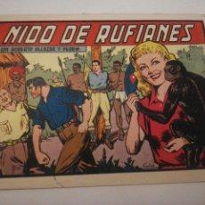 Tebeos: ROBERTO ALCÁZAR Y PEDRÍN NIDO DE RUFIANES. Lote 178859320