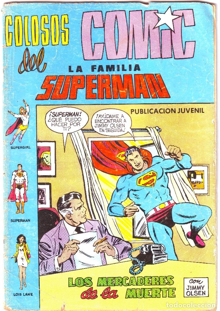 LA FAMILIA SUPERMÁN. LOS MERCADERES DE LA MUERTE (Tebeos y Comics - Valenciana - Colosos del Comic)
