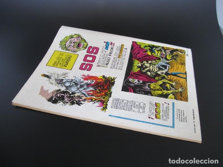 Tebeos: SOS (1980, VALENCIANA) 34 · 17-IV-1982 · S O S - Foto 2 - 179079022