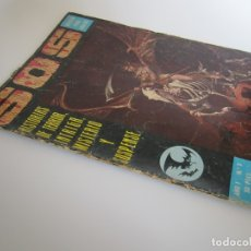 Tebeos: SOS (1975, EDIVAL) 2 · 8-III-1975 · S O S. HISTORIAS DE TERROR, INTRIGA, MISTERIO Y SUSPENSE. Lote 179083476