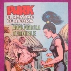 Tebeos: TEBEO, VALENCIANA, PURK EL HOMBRE DE PIEDRA, AVALANCHA TERRIBLE, NUM.40. Lote 179084157