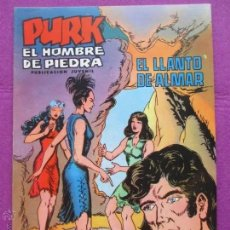Tebeos: TEBEO, VALENCIANA, PURK EL HOMBRE DE PIEDRA, EL LLANTO DE ALMAR, NUM.32. Lote 179084516
